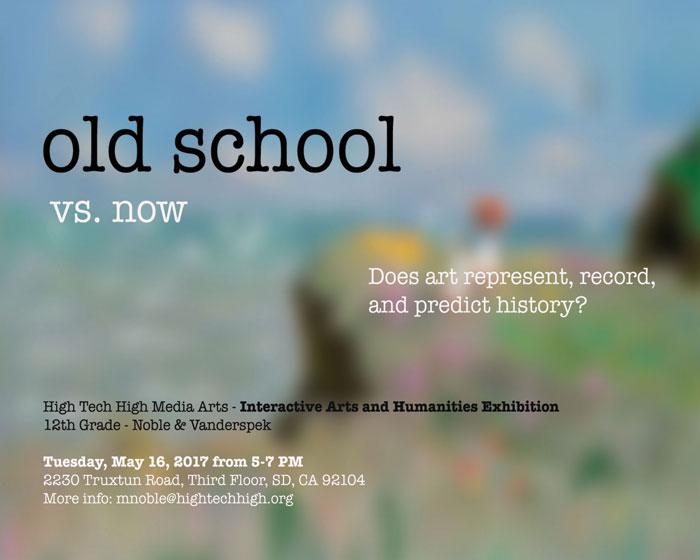 Old School vs  Now | Media Arts